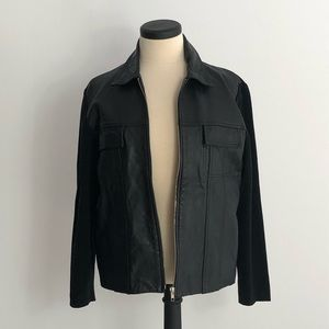 Leather Bummer Jacket Nygard Collection